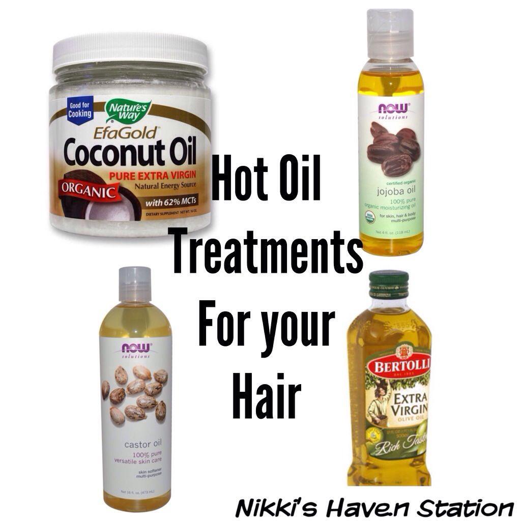 Hot Oil Treatments For Natural Hair Nikki S Haven Oil Treatment For Hair Natural Hair Styles Hot Oil Treatment