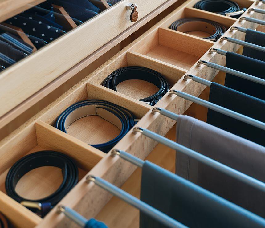 Wardrobe+Interiors U2026 Belt StorageCloset ...