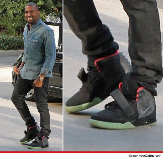 Kanye West Limited Edition Nike Air Yeezy 2 Sneakers Going For 80 000 Online Nike Nike Free Men Yeezy Sneakers