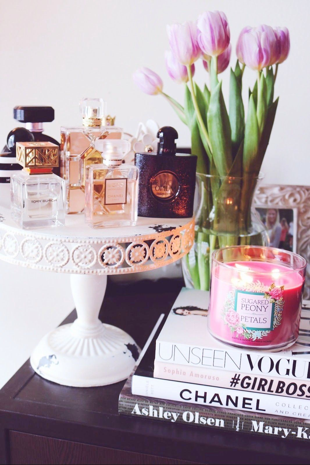 Pin by mohleen on aesthetic → in 2020 Perfume display