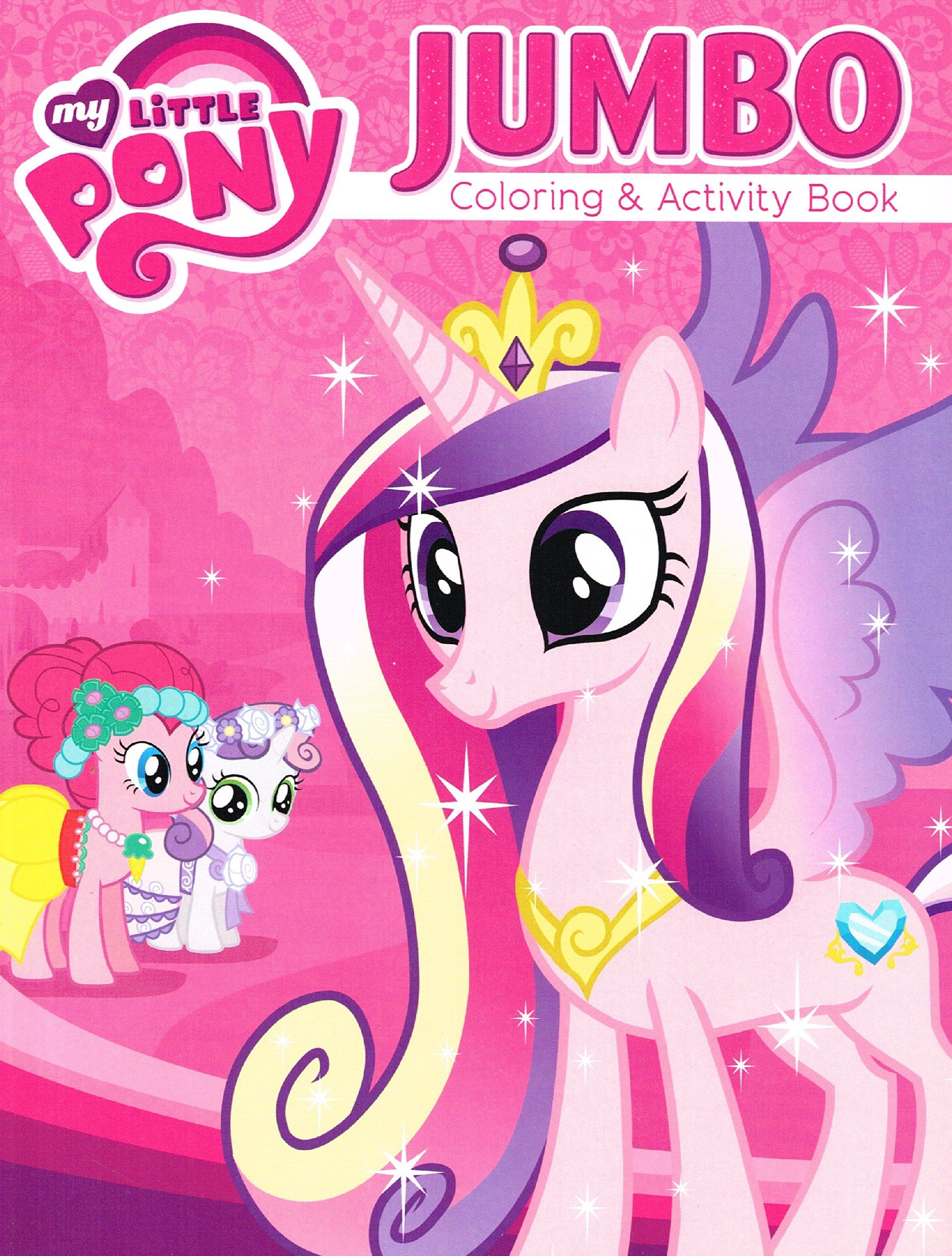 - My Little Pony® Coloring And Activity Book Set - Featuring