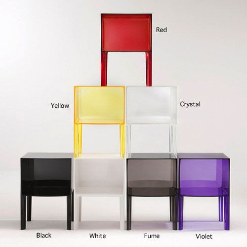 Kartell Ghost Buster Side Table Small By Philippe Starck | Stardust Modern  Design Design Inspirations