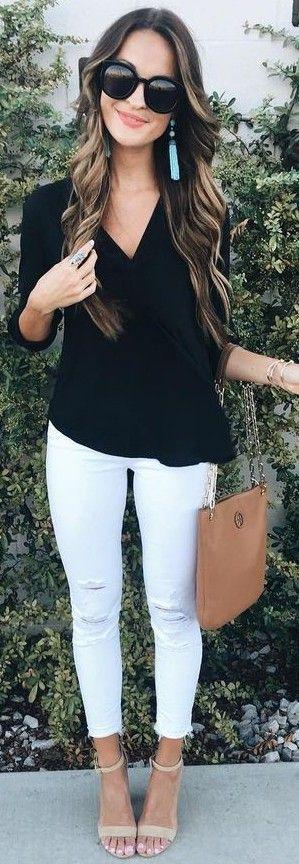 usar blanco un Cómo lostruquitosdeellas pantalon vwpPS