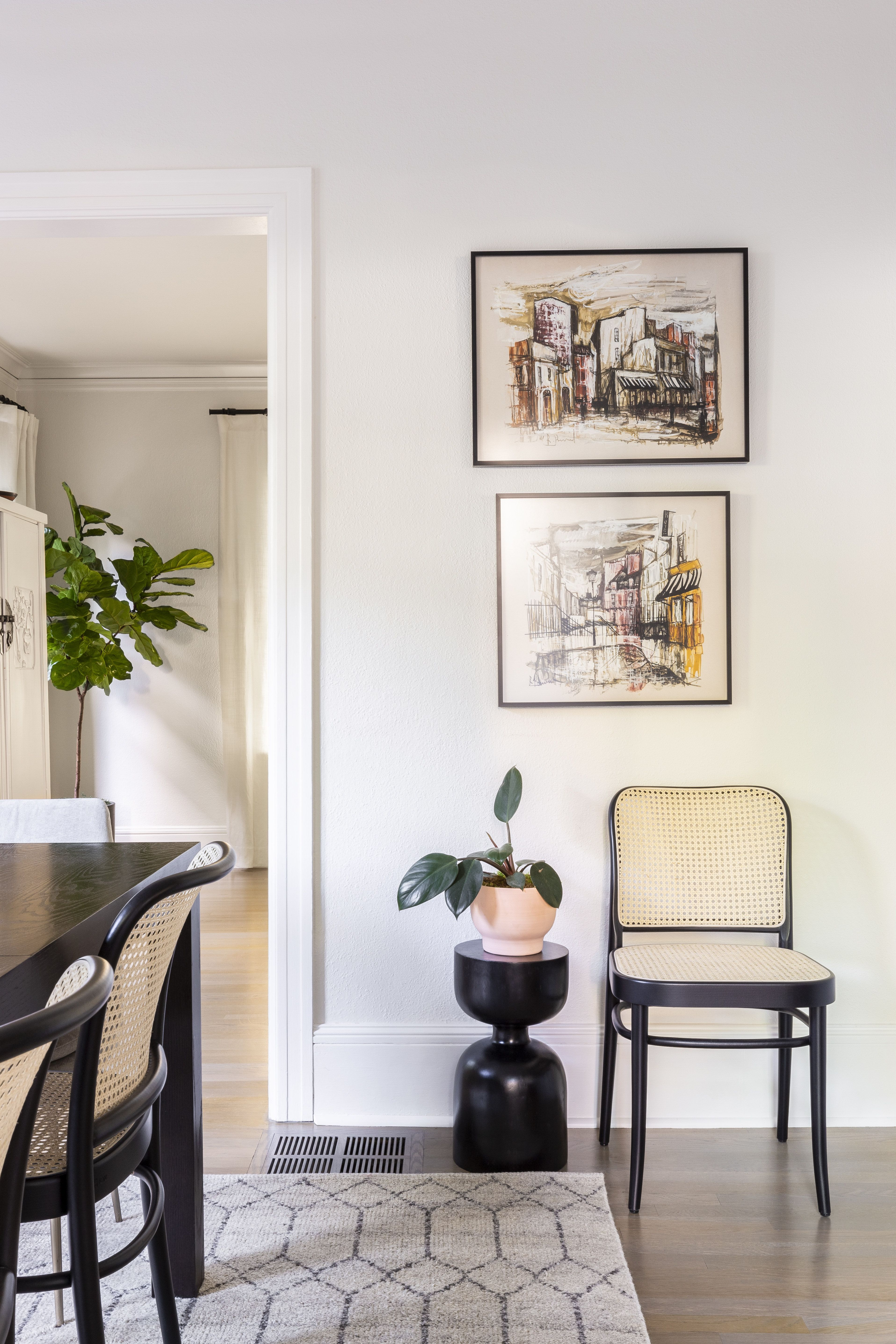 Tour A Dutch Colonial Portland Home That Blends The Old And The New Colonial Dining Room Dutch Colonial Homes Home Decor