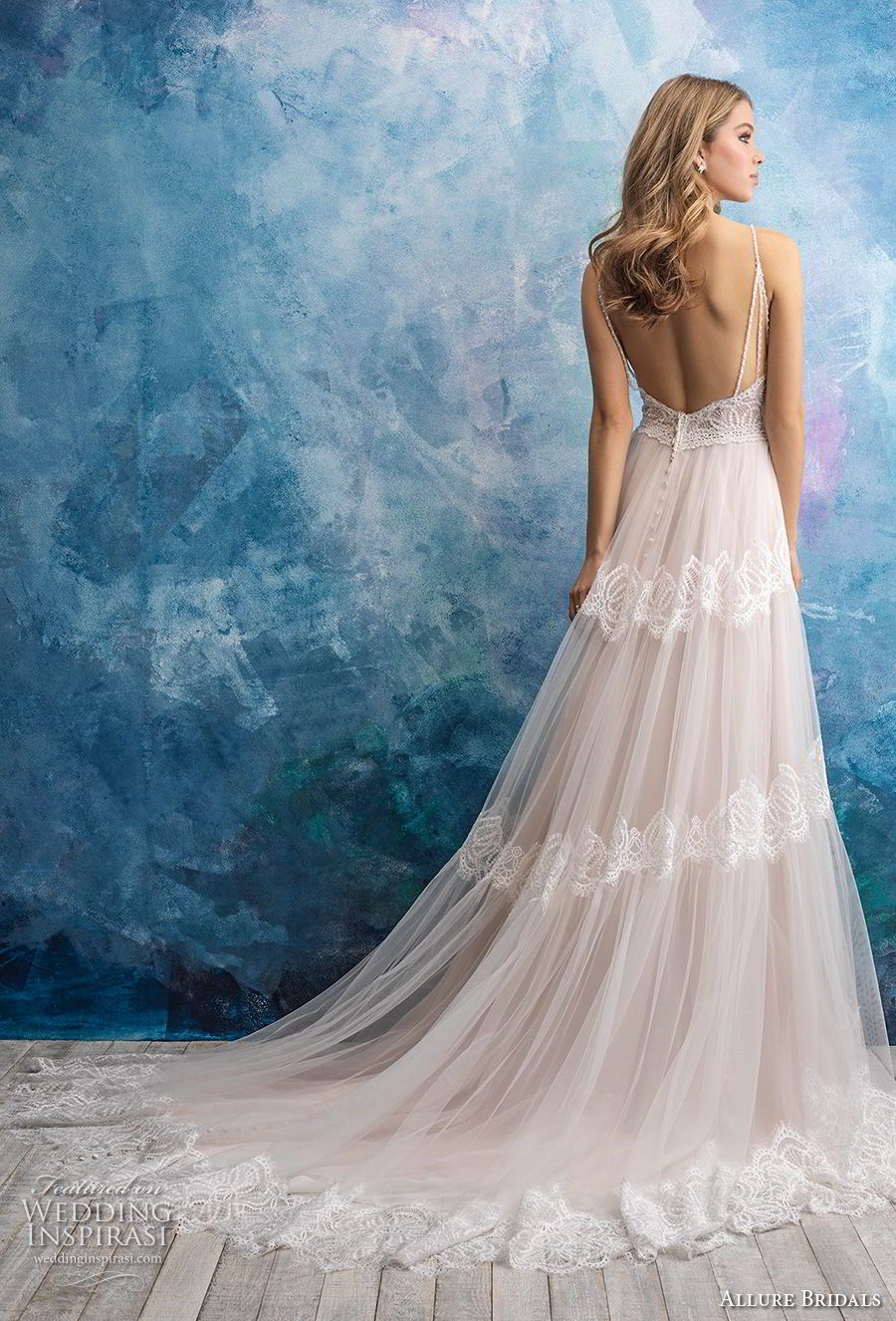 Allure Bridals Fall 2018 Wedding Dresses | Novios, Tiernas y ...