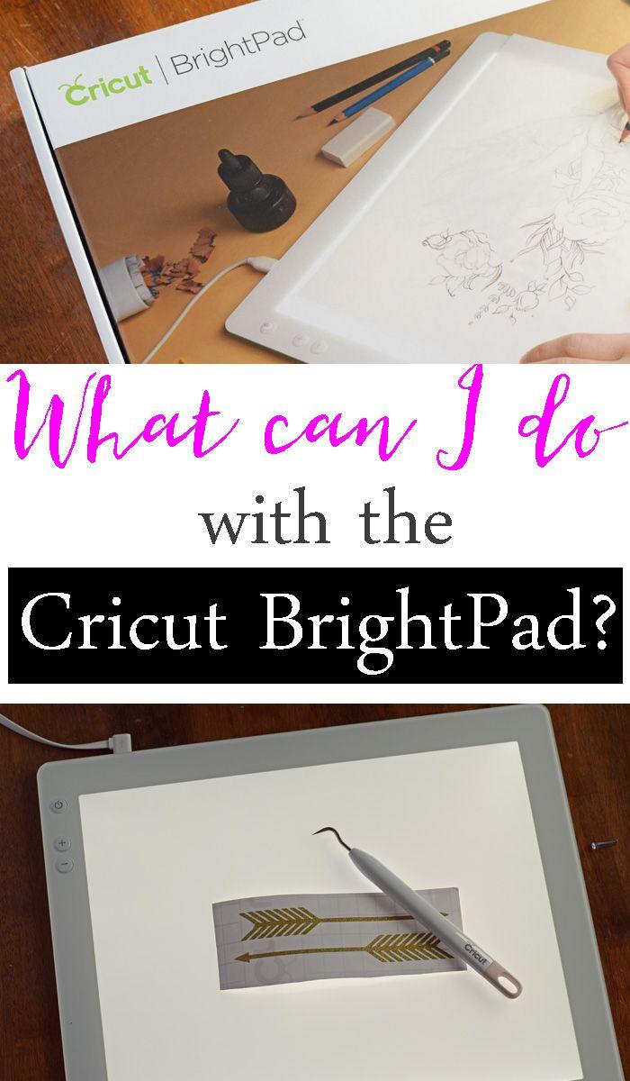 Crafty Uses For The Cricut Brightpad Ad Cricut Brightpad Cricut Tutorials Cricut