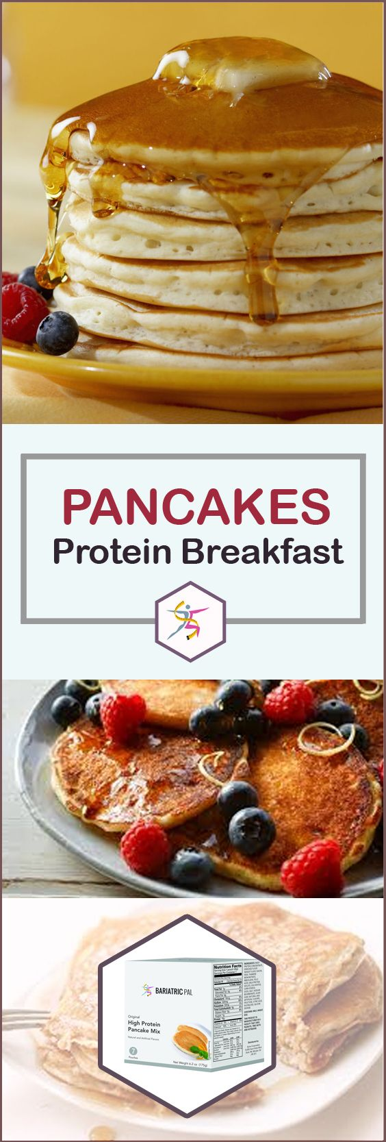Bariatricpal hot protein breakfast original pancakes original bariatricpal original pancake mix can deliver when you are craving a hot breakfast make a ccuart Gallery