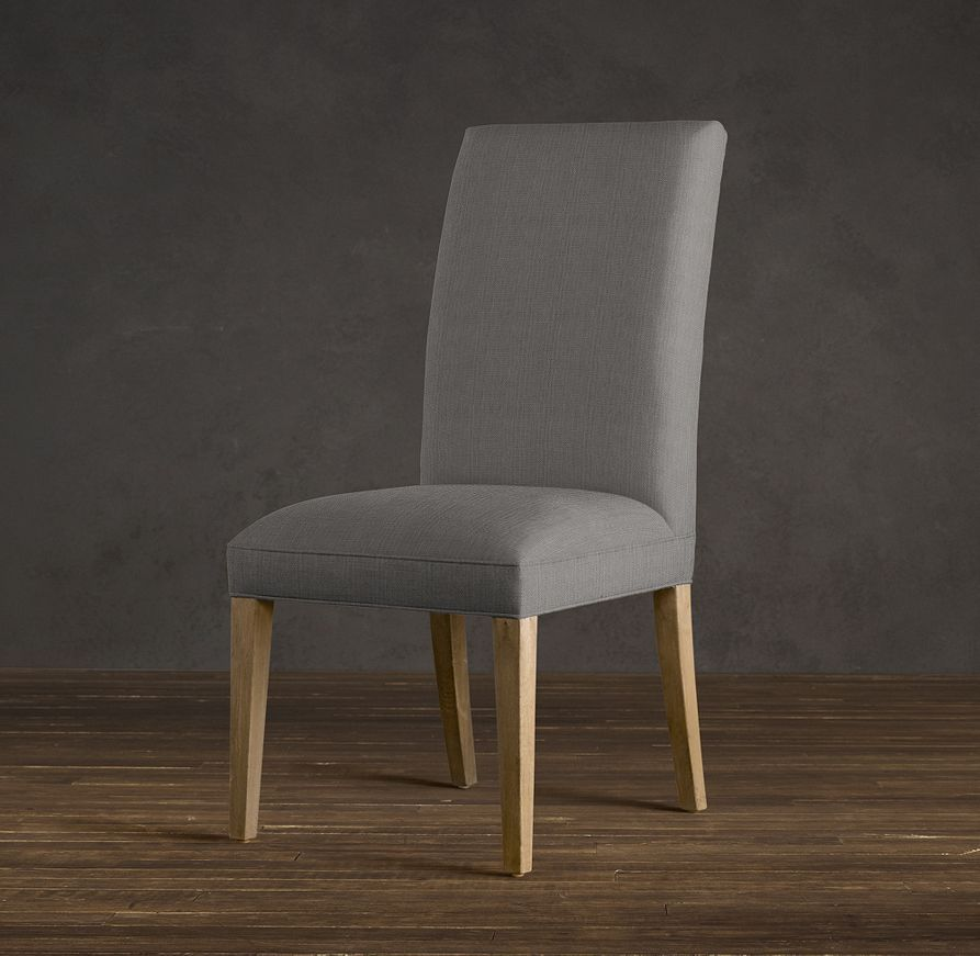 RHu0027s Hudson Parsons Fabric Side Chair:Refined Good Looks And Comfortable  Padding Define Our Hudson Parsons Dining Chair. It Pairs Sturdy, Solid Oak  ...