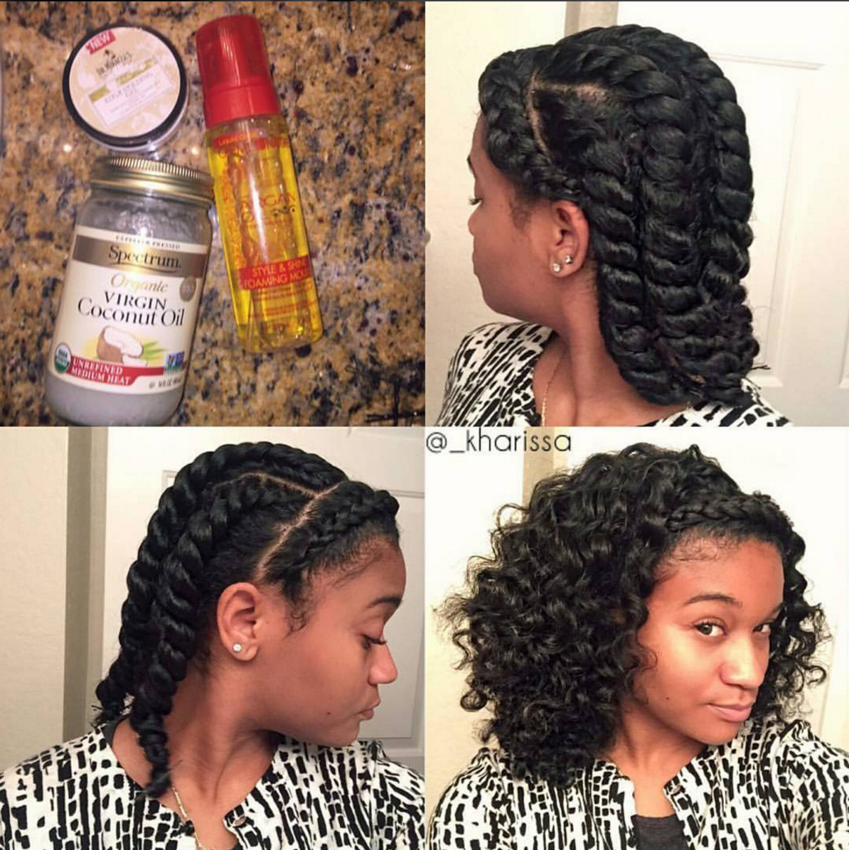 Natural Texturizer Curly Hair
