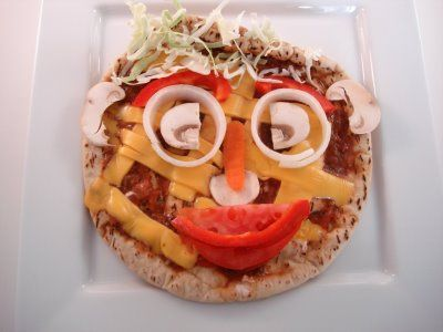 Funny Face Pizza #dental #poker