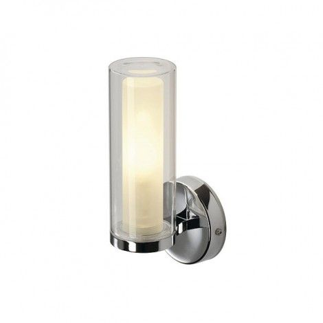 Nostalux wandlamp wandlampen Wandlamp, WL 105 E14, chroom, dubbel