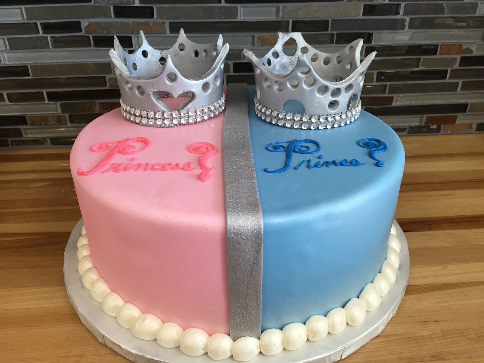 baby shower princess prince gender reveal cake baby showers