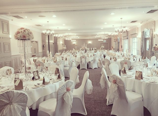 Our Stunning St Andrews Suite All Set For A Wedding Breakfast