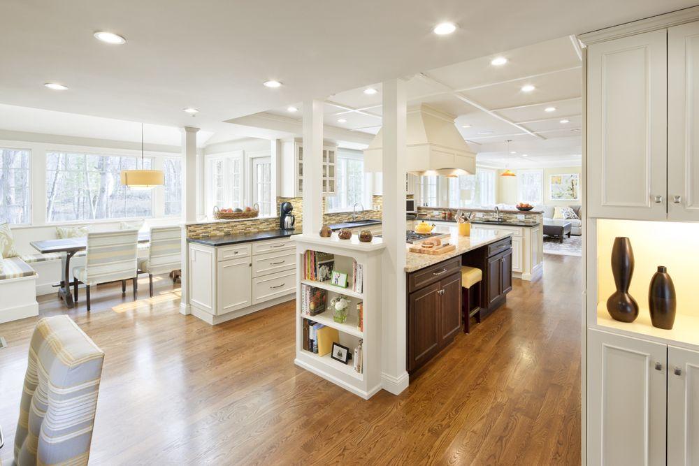 Open Floor Plan Kitchen Eat In Sitting Area Kitchen Design Open Floor Plan Kitchen Kitchen Layout