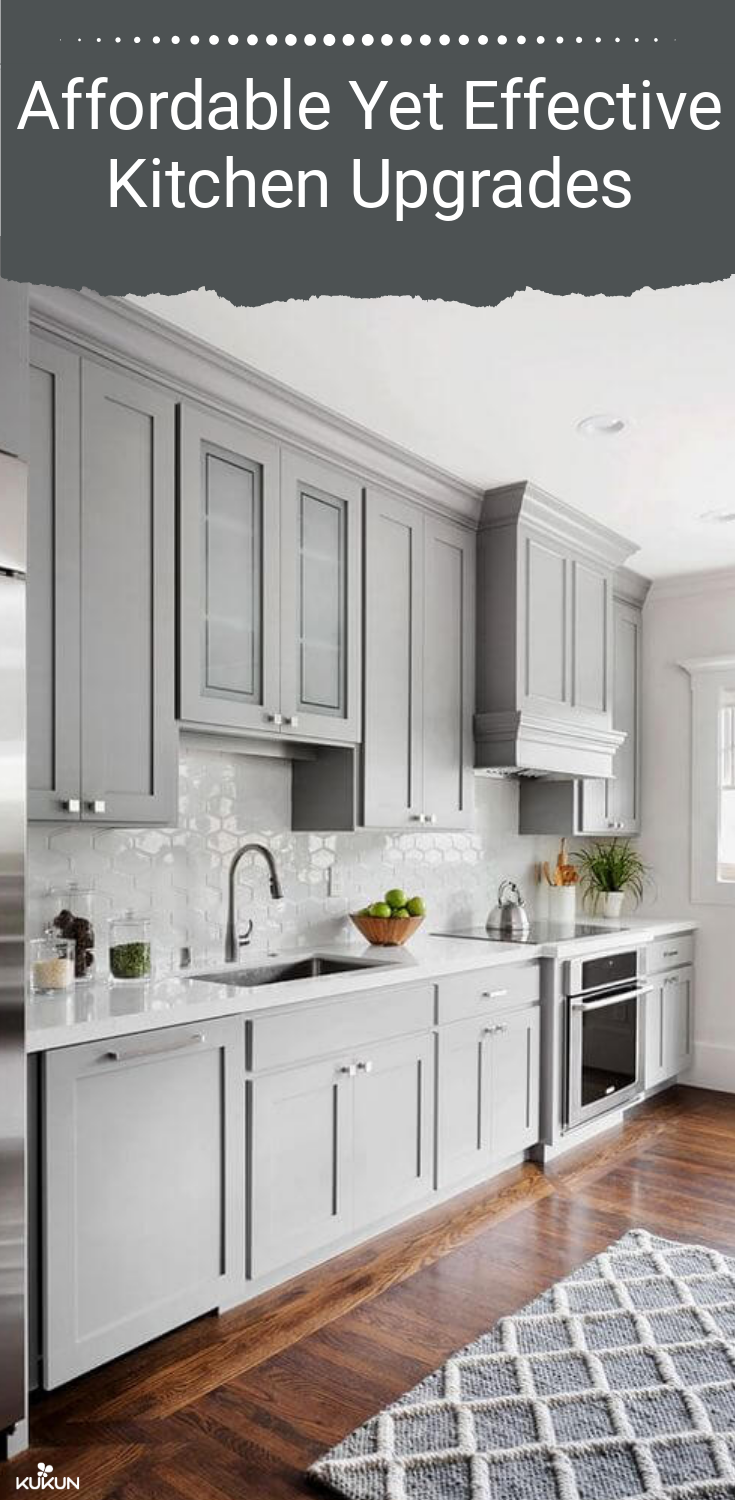 Affordable Kitchen Upgrades That Can Help You Boost Your Roi Shaker Style Kitchen Cabinets Kitchen Cabinet Styles Kitchen Design