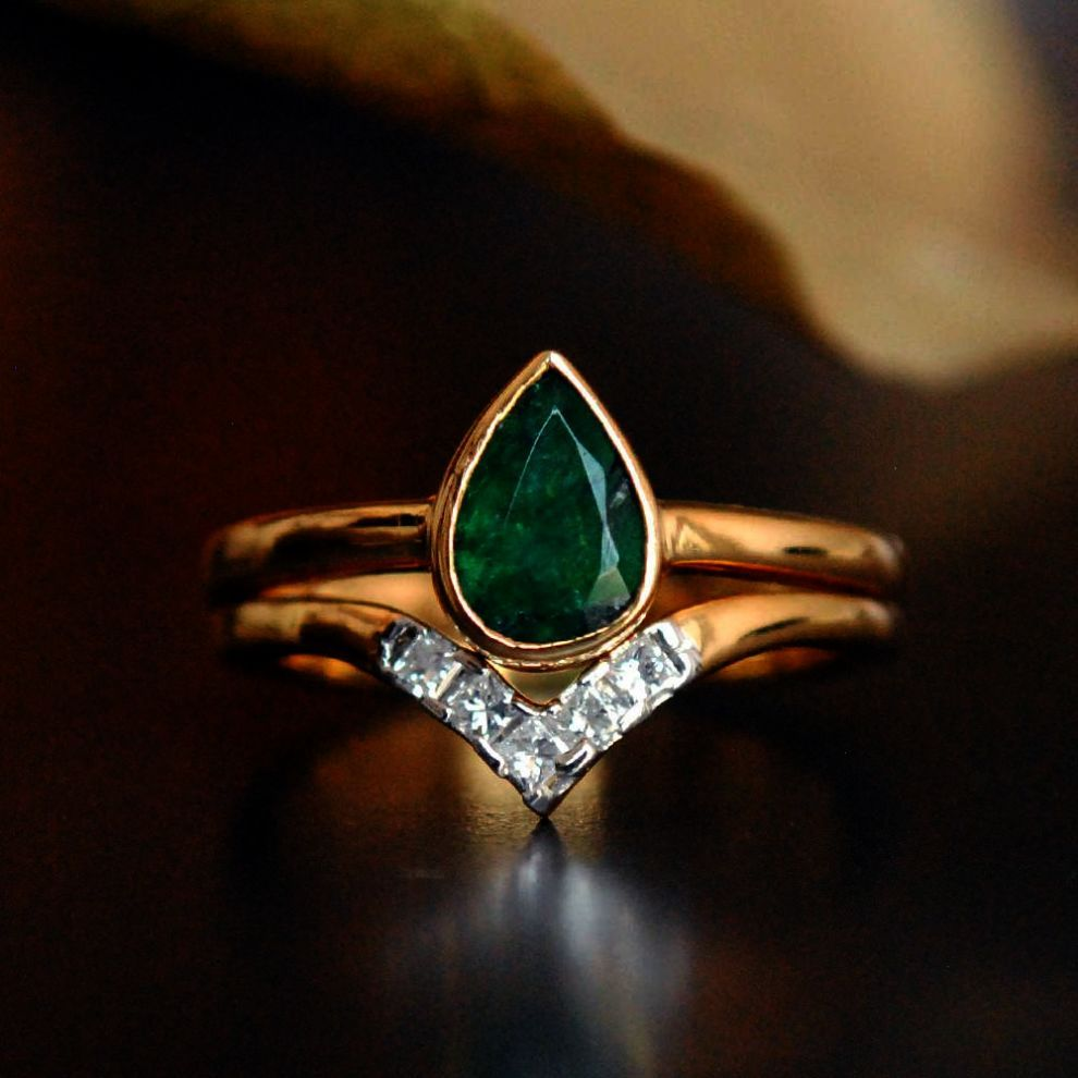 Green amber engagement rings emerald engagement rings meaning