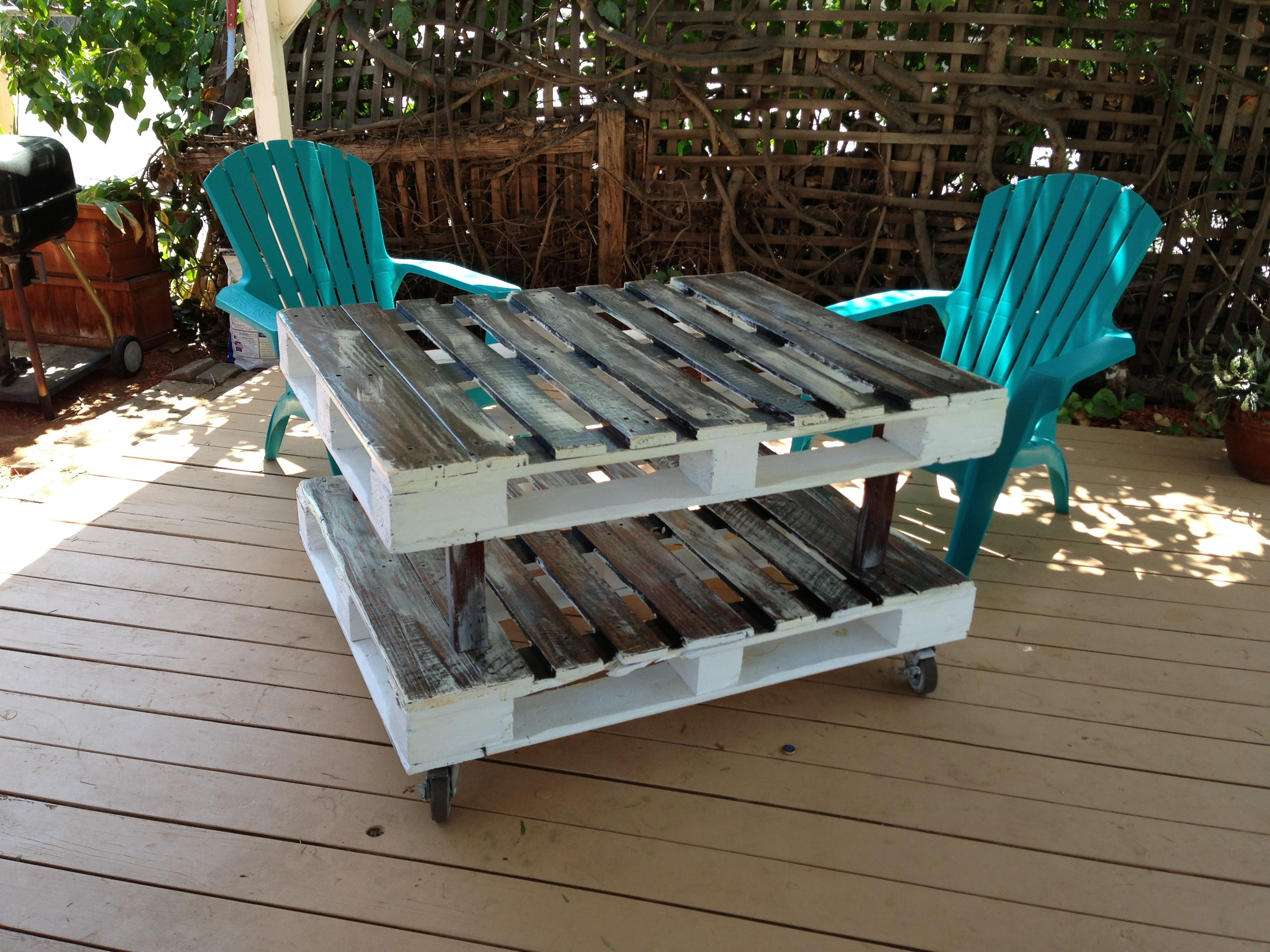 Recycled patio furniture Upcycle ideas
