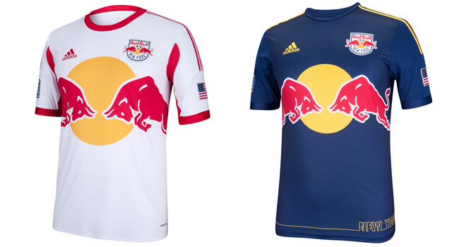 887a823b6 Camisas do New York Red Bulls 2014 Adidas