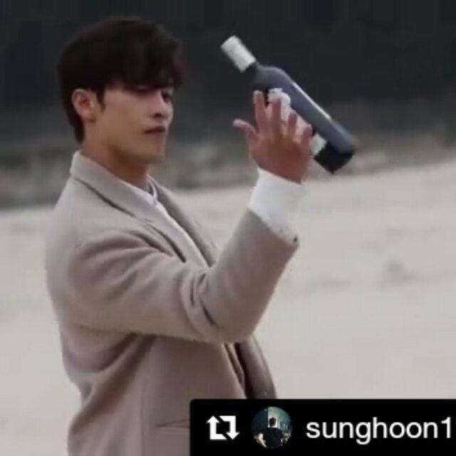#Repost @sunghoon1983_support ・・・ BTS video #sunghoon drama shooting #mysecretromance .. .. #Repost @godinmedia . Global romance drama #MySecretRomance #behindthescenes Jin-uk(#SungHoon), at the beach with the wine on his hand. #Making version😉 . #로맨틱코미디 는 #가딘미디어 #romanticcomedy by #godinmedia . #글로벌로맨스드라마 #글로벌로맨틱코미디 #사전제작드라마 #한국콘텐츠진흥원 #로맨틱코미디 #로맨스드라마 #1퍼센트의어떤것 #1프로의어떤것  #kocca  #KoreanDrama #KDrama . #배우성훈  @sunghoon1983  파이팅! @stallion__entertainment #ソンフン #방성훈  #sunghoon1983
