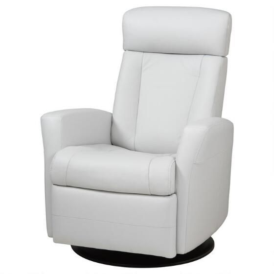 Super Belvedere Leather Recliner Tre Silver Decorating Modern Onthecornerstone Fun Painted Chair Ideas Images Onthecornerstoneorg