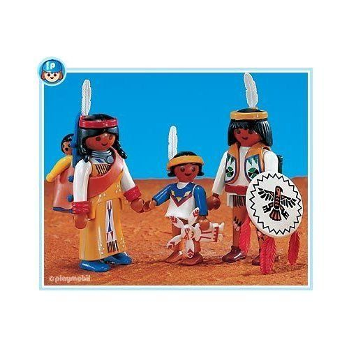 Playmobil 6322 Native American Family II  NEW Western  Add-On set
