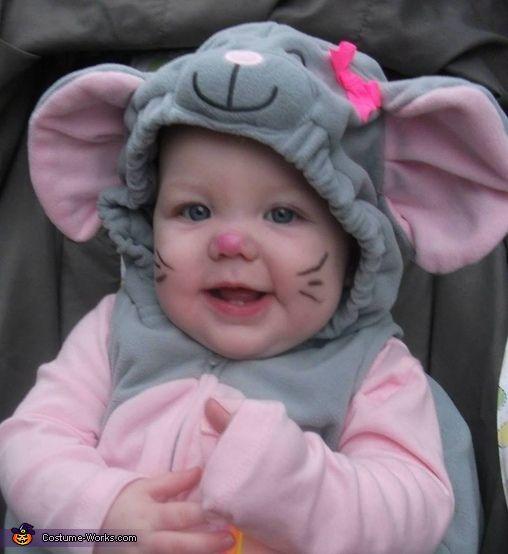 Cute Mouse Baby Costume  sc 1 st  Pinterest & Cute Mouse Baby Costume | Halloween costume contest Costume contest ...