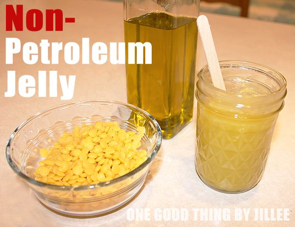 Homemade Non-Petroleum Jelly for the lips