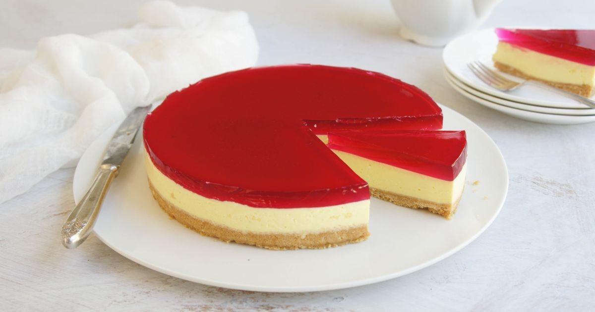 Jelly Cheesecake Recipe Jelly Recipes Jelly Cheesecake Cheesecake Recipes