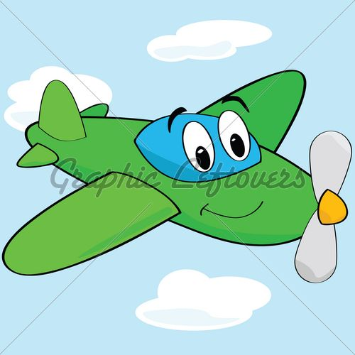 Cartoons Airplanes Cartoon Airplane Gl Stock Images Cartoon