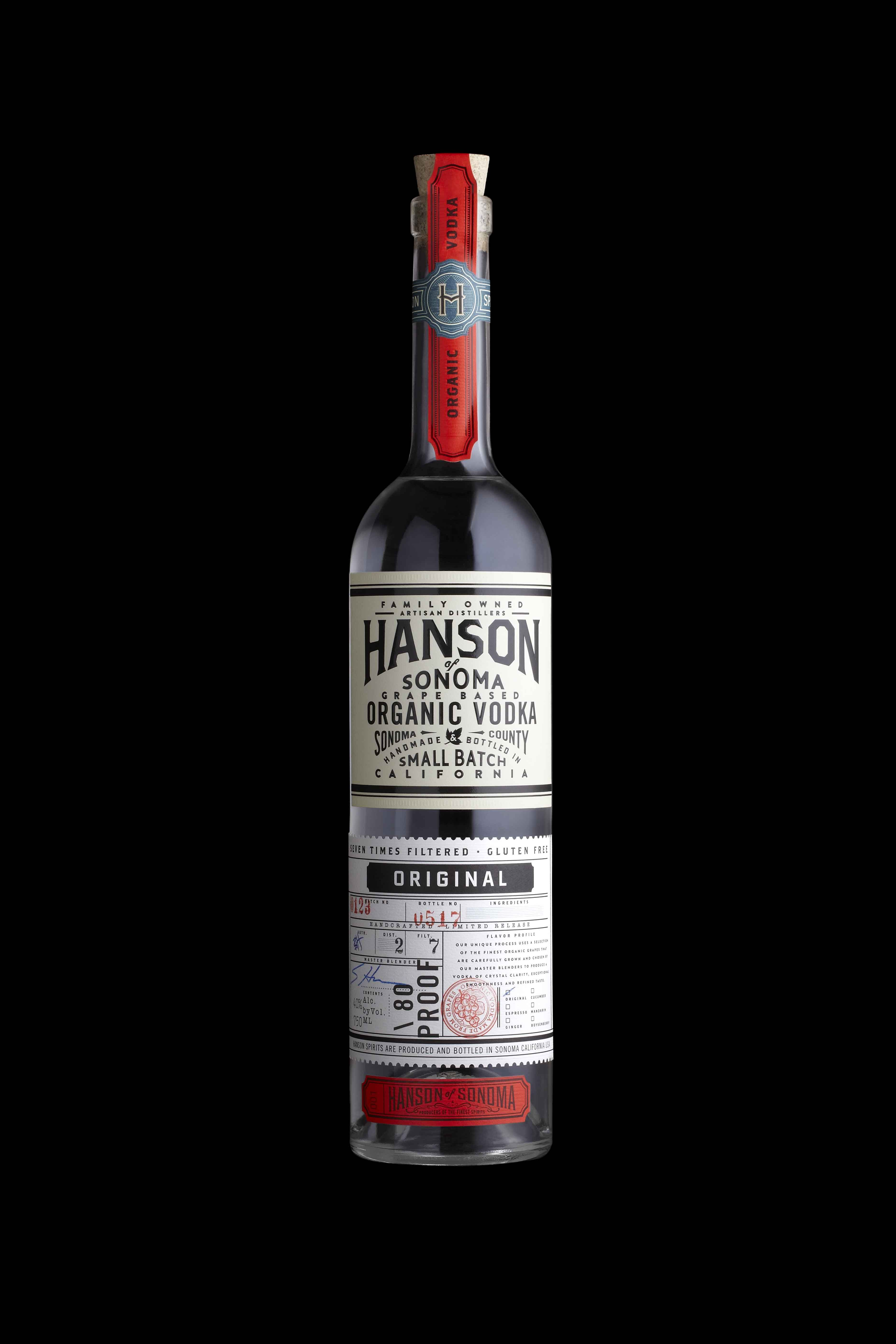 Hanson Vodka - Graphis