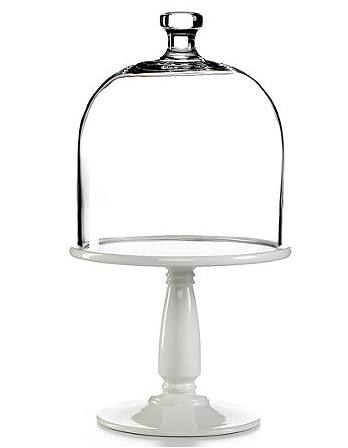 Martha Stewart Collection Serveware Bell Jar Cake Plate with Dome - Serveware - Dining \u0026 Entertaining - Macy\u0027s  sc 1 st  Pinterest & Martha Stewart tall skinny cake stands for little cakes....and ...