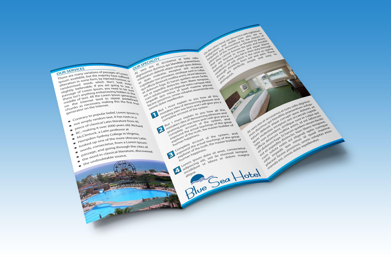 Design flyer or bifold or trifold brochure design brochures tri 11x17 tri fold brochure 85 x 11 trifold brochure template a4 trifold brochure saigontimesfo