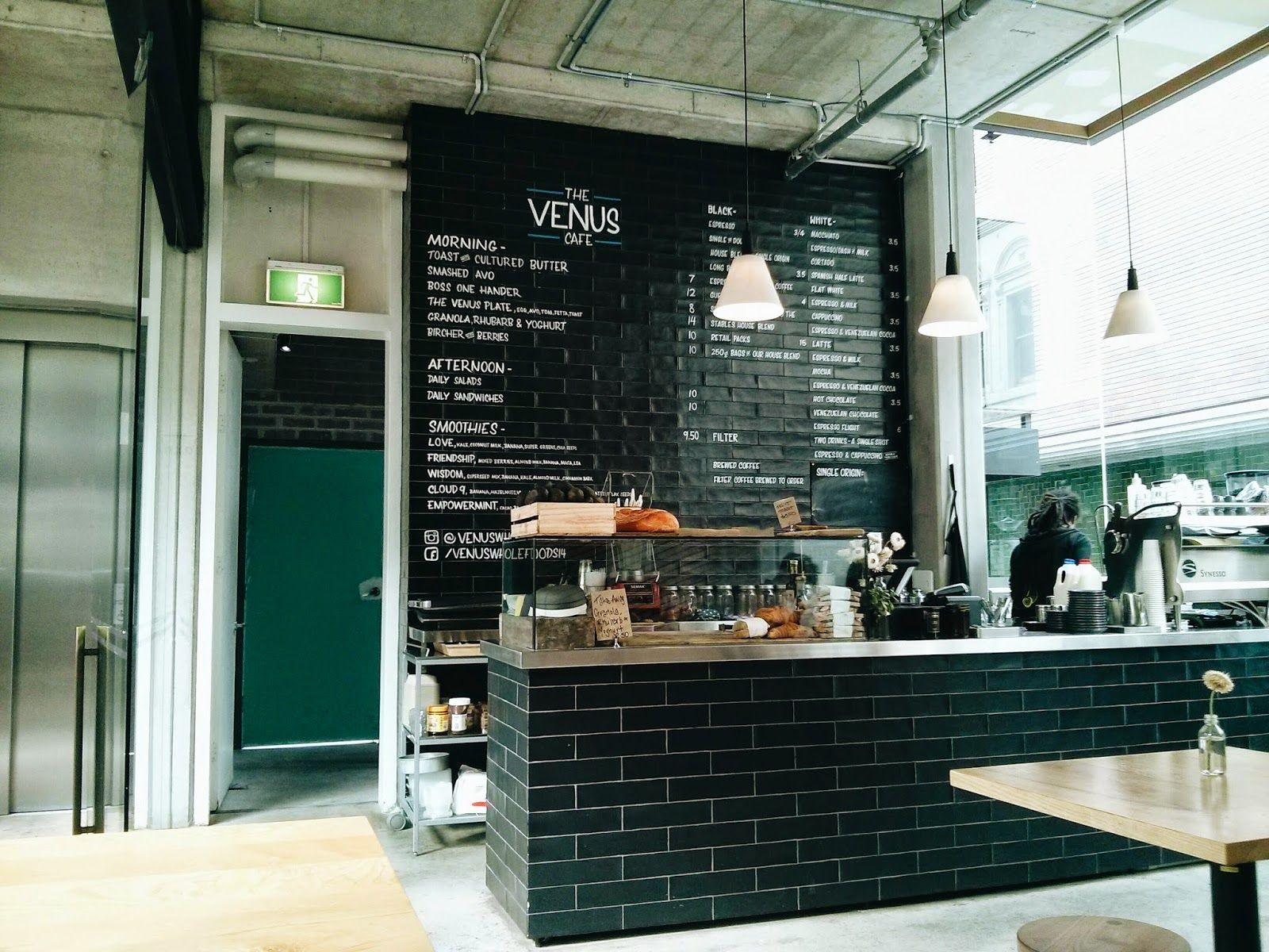 sydney coffee nerd: venus cafe (the stables cafe) - surry hills