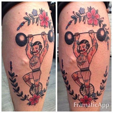 "22 Likes, 1 Comments - Reetta Tattoo (@reetta.myrskytattoo) on Instagram: ""#strongman #strongmantattoo #oldschooltattoo #vegantattoo #oulu Done at @inkfinite"""