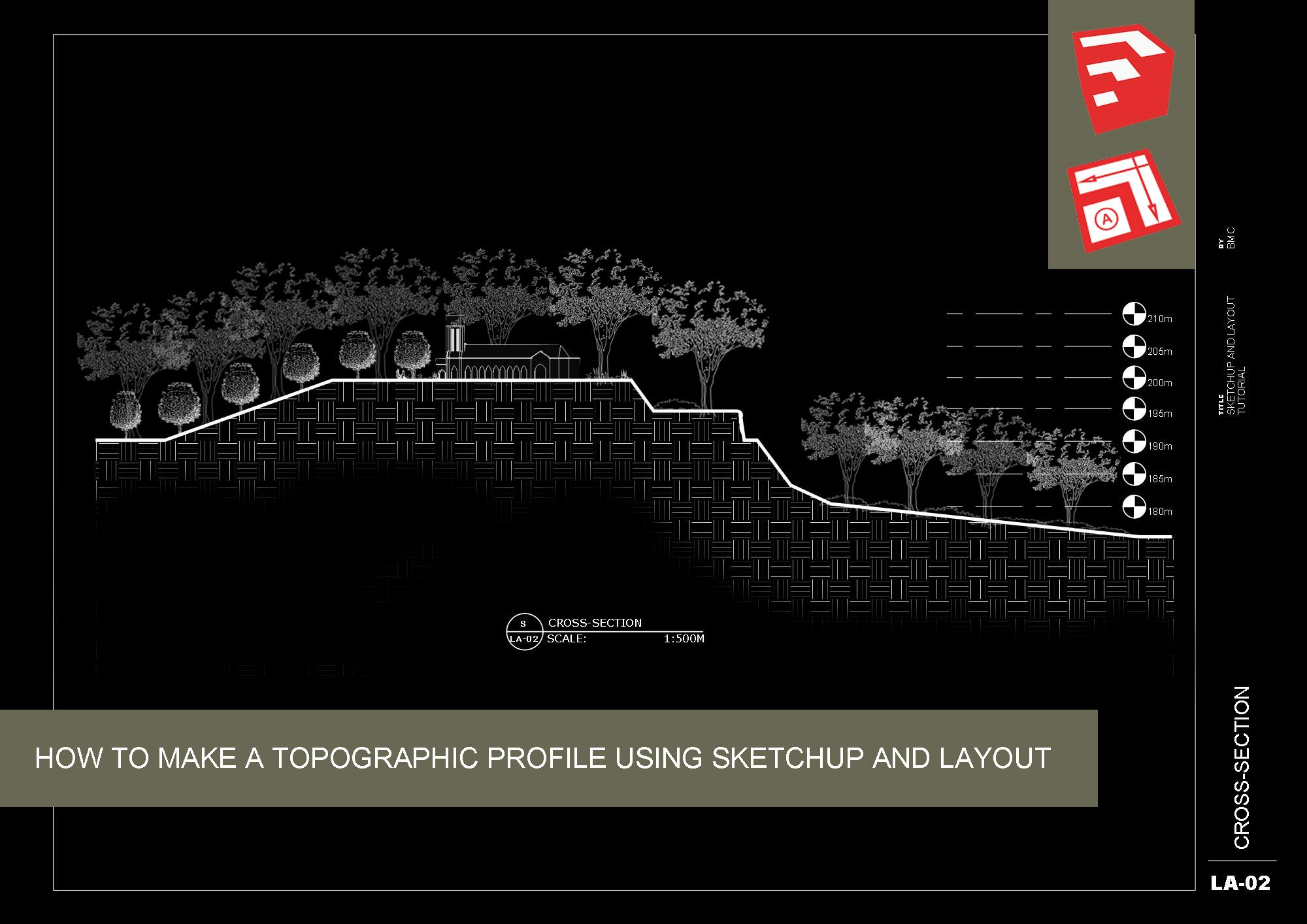 How To Make A Topographic Profile Using Sketchup And