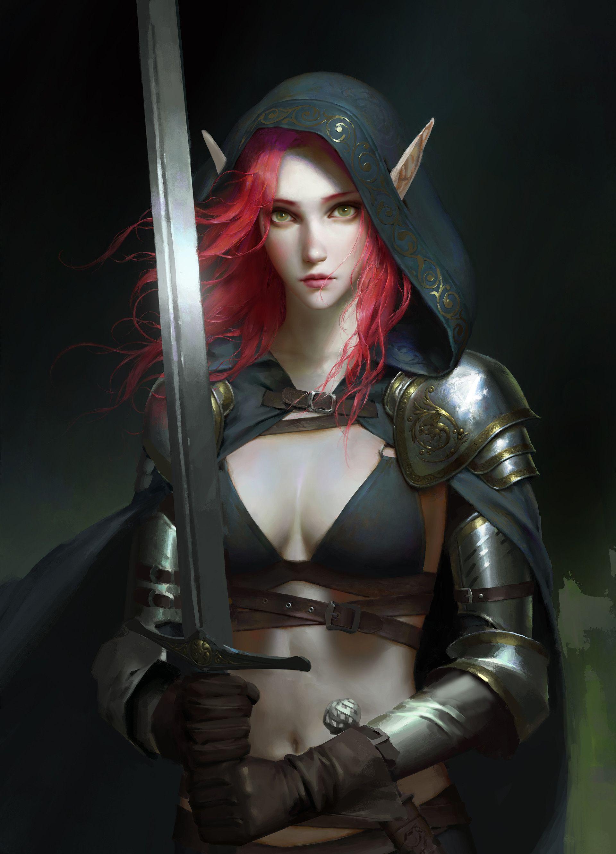 Female General Fantasy Art