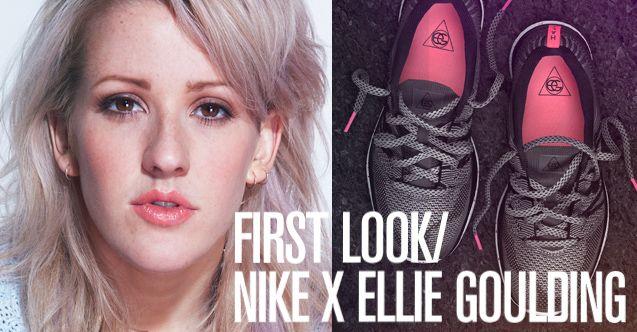 Eerste X wil Ik Ellie deze en blik Nike loopschoenen Goulding B7qBPOx