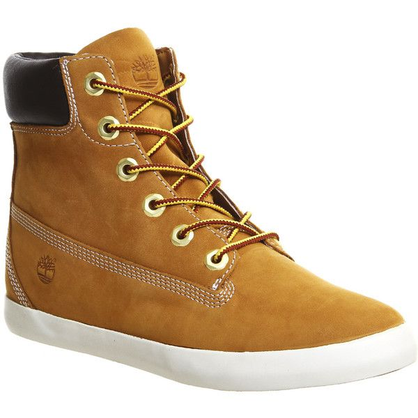 Timberland Glastenbury 6 Inch Boot ($155) ❤ liked on Polyvore featuring  shoes, boots · Laced BootsLace Up Ankle ...