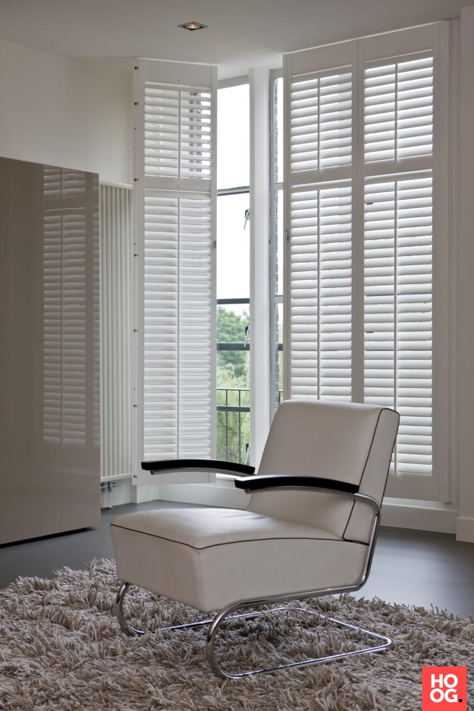 Luxury window coverings  luxe shutters op maat  woonkamer ideeën  living room decor ideas