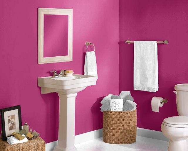 This Is Definitely The Bathroom Color--Sherwin Williams