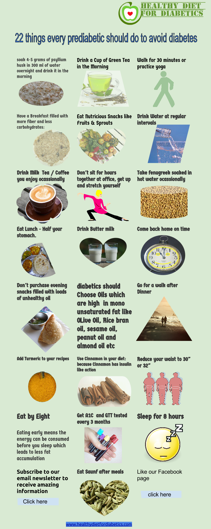 22 things every prediabetic should do to avoid diabetes