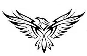 cb9c4a6f Beautiful Tribal wing patterns | tribal eagle tattoo tribal adler tattoo  aigle tribal tattoo tribal Tribal