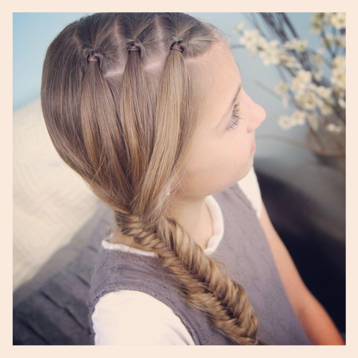Cute girls hairstyles minute hairstyle video tutorials