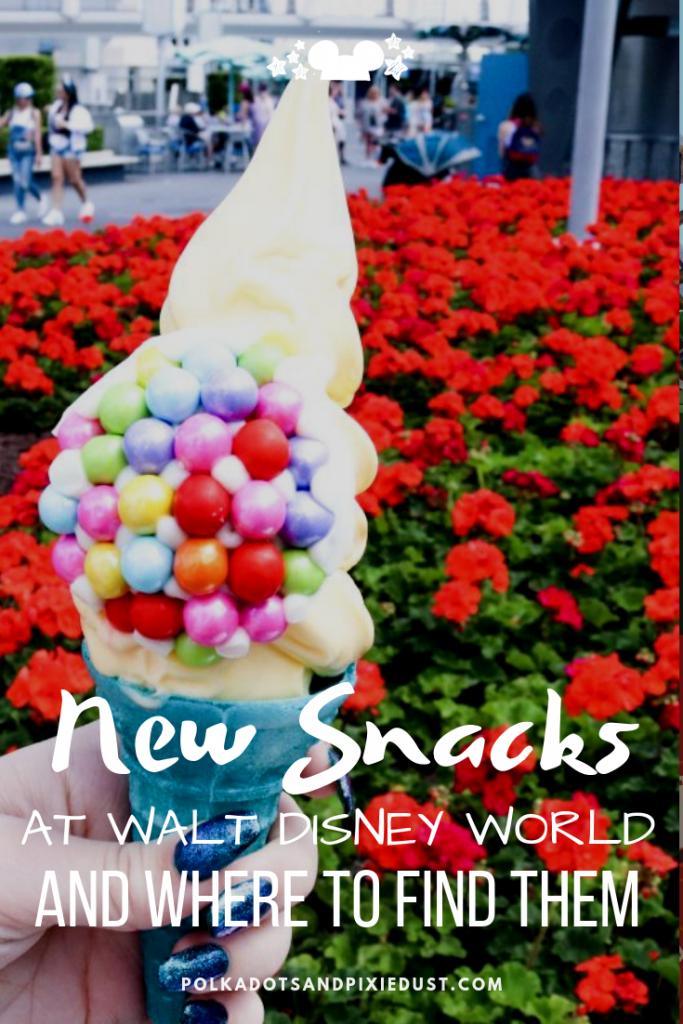 New Snacks at Walt Disney World 2020 Walt disney world