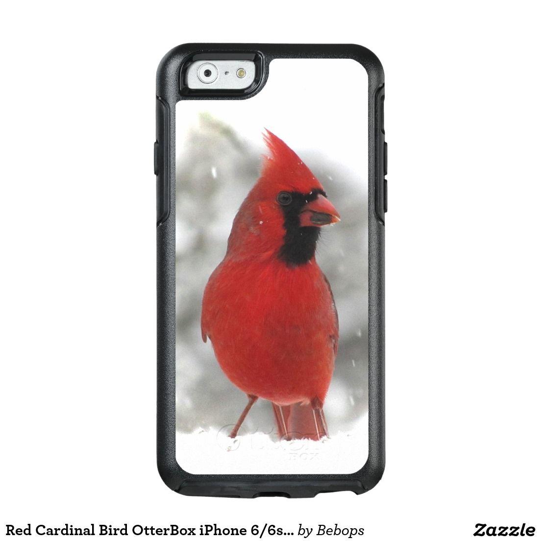 Red Cardinal Bird OtterBox iPhone 6/6s Case