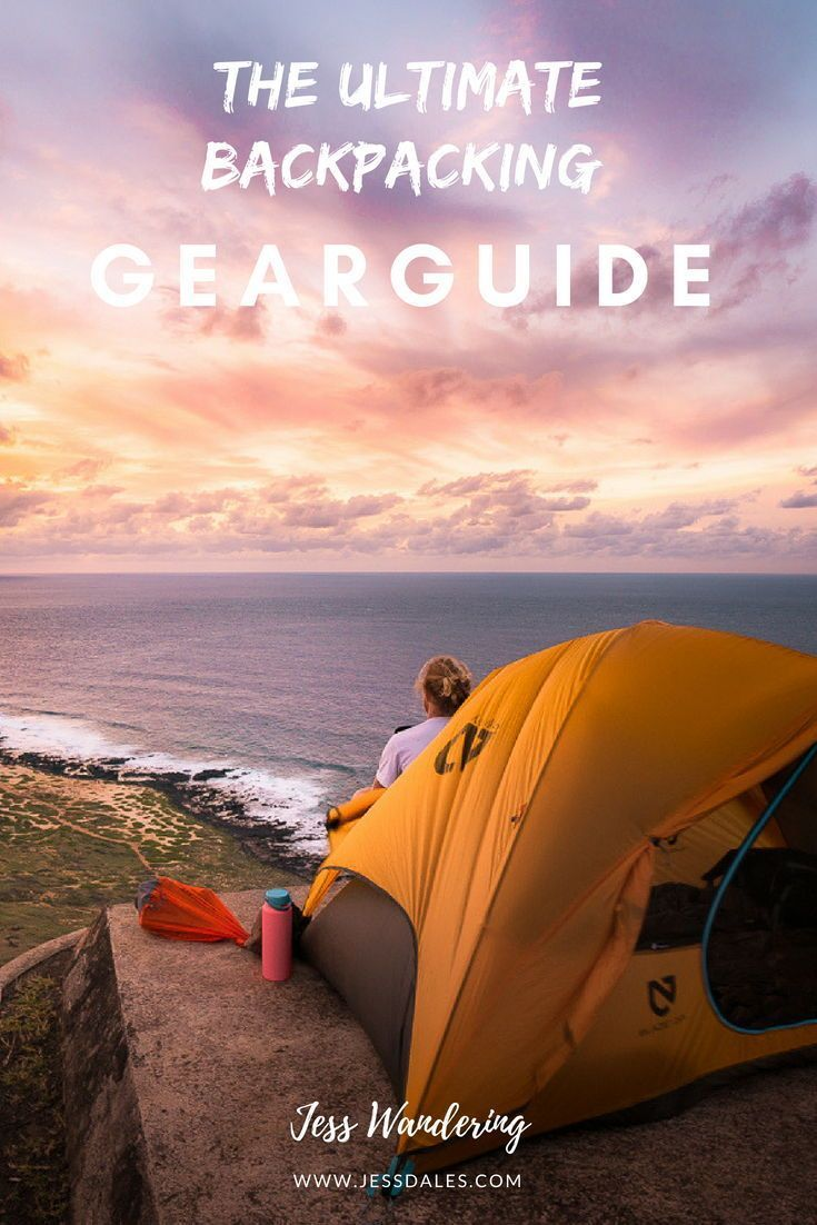 Photo of The Best Hiking and Camping Gear — Blog —  Jess Wandering