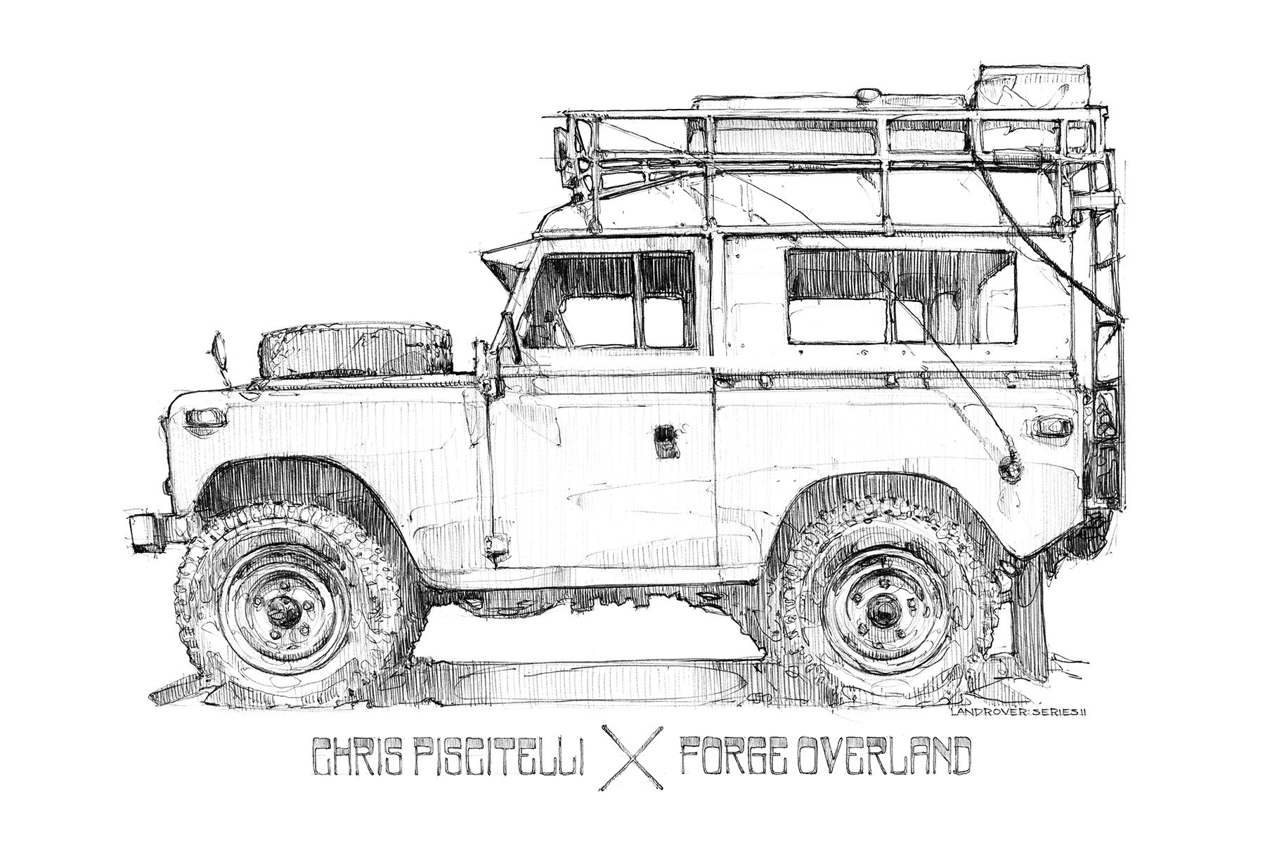 Piscitelli X Forge Overland Limited Edition Land Rover