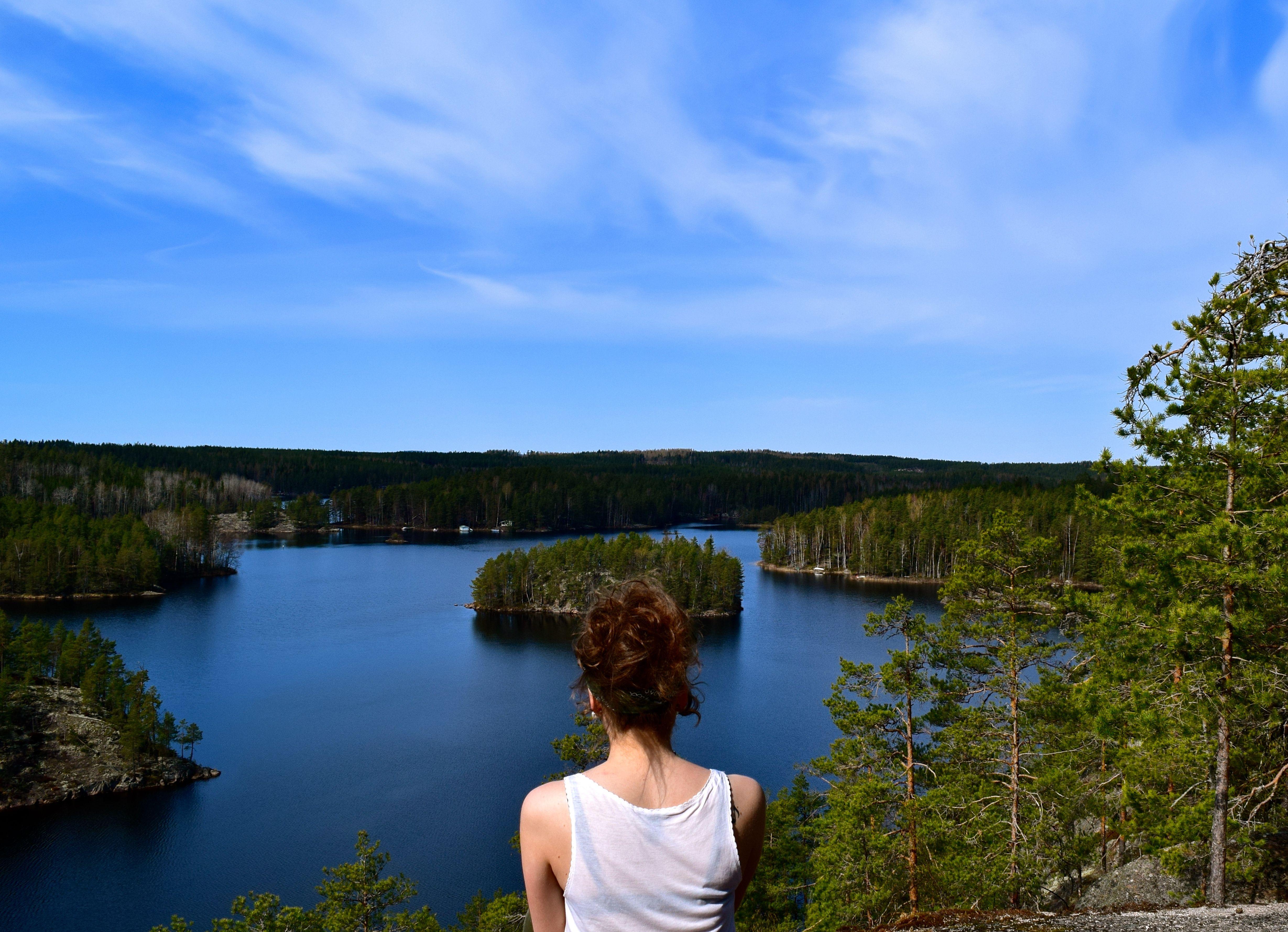 Repovesi National park, Finland - April 2014