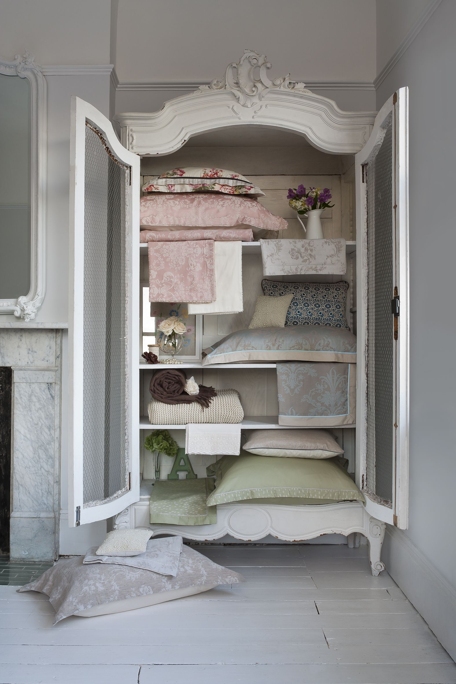 Beautiful Wall Cupboards wall wardrobe and almirah 19 The Most Perfect Free Standing Vintage Linen Cupboard