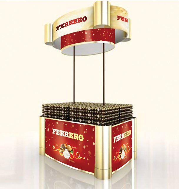 Exhibition Stand Design Decor S L : Display ferrero pdv pinterest pop design